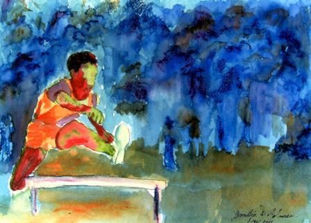 hurdler_watercolor